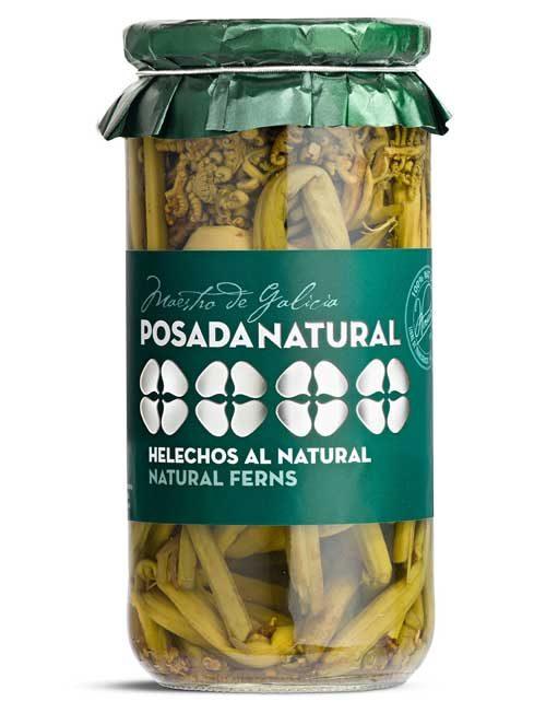 Helechos al natural tarro de vidrio 350 g