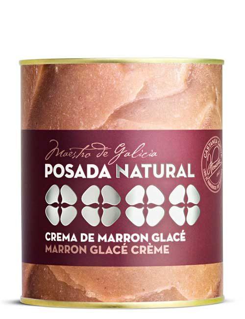 Crema de marron glacé lata fácil apertura 1.000 g