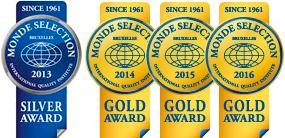 Medallas Monde Selection