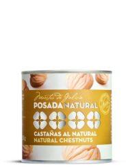 Castañas al natural lata fácil apertura 250 g