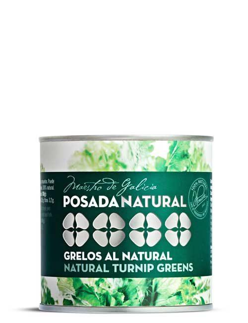 Grelos al natural lata fácil apertura 200 g